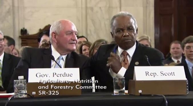 screenshot_Sonny Perdue hearing